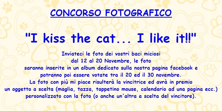 concorso i kiss the cat!