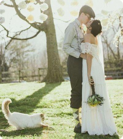 Gatti a nozze: galleria fotograFica di gatti invitati (od imbucati) a nozze