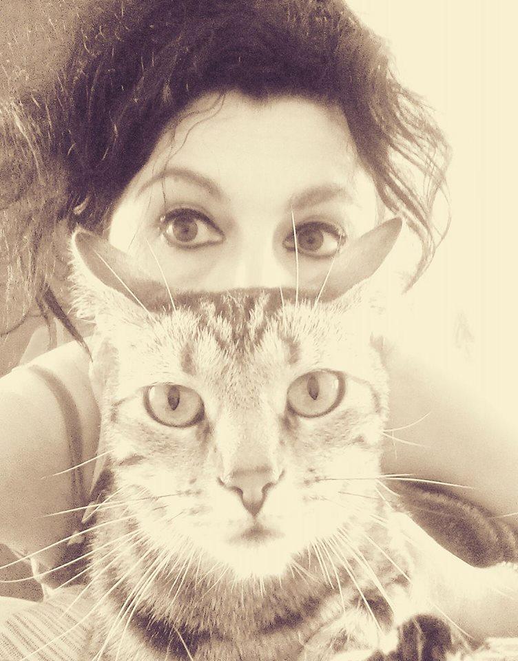 Anima da gatto, dietro i miei occhi c'è un'anima da gatto, Tabby e me.