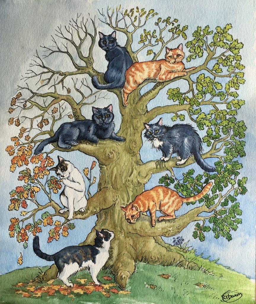 albero dei gatti