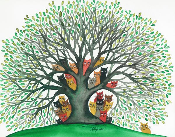 """""""L' albero dei gatti"""" fiaba per bambini ( autore sconosciuto)"""