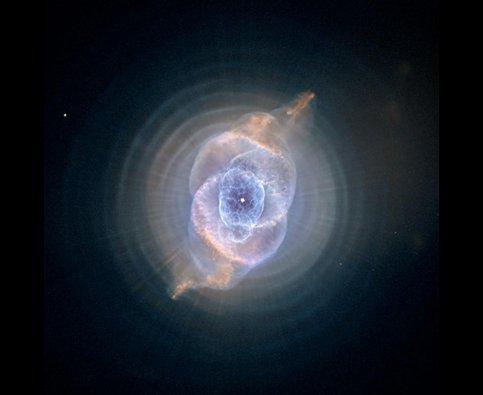 Impronte ed occhi di gatto tra le stelle, nebulosa occhio di gatto