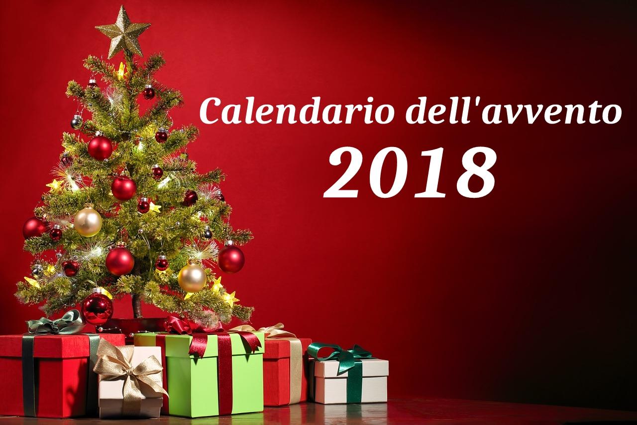 Calendario dell'avvento 2018