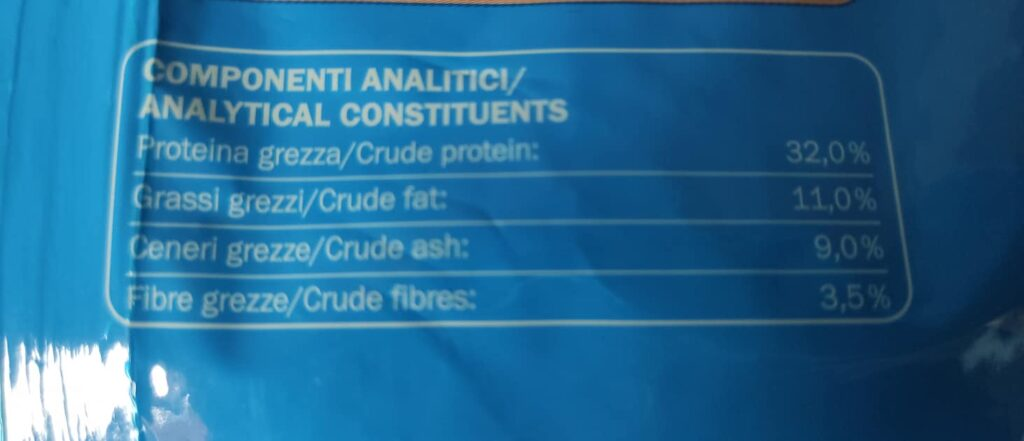 Lista componenti analitici marca 3